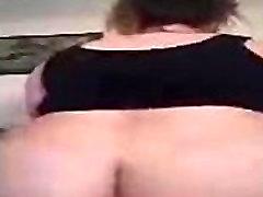 my BBW slut riding and moaning