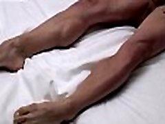 Gay twinks teasing tube Fit Boy Jordan Tastes His Feet
