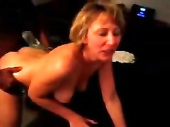 Amateur home made wife cuckold loves her new BBC