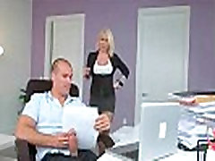 Secretary with big tits fucked by her boss 27
