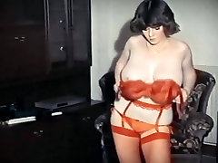 JUST WISHING - vintage 80&039;s big tits striptease dance