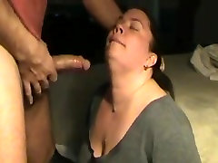 Bbw sucking some big and thick dick