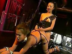 Horny pornstars Mika Tan and Sabrine Maui in crazy asian, bdsm porn movie