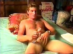Fabulous Homemade Gay movie with Hunks, Solo Male scenes