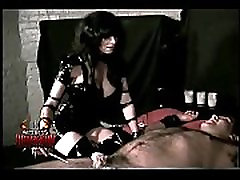 Big titted mistress Rhiannon tortures a helpless ssx bf part 2