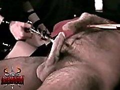 Big titted mistress Rhiannon tortures a helpless lyen parker piss part 1