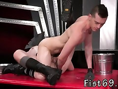 Gay fisting models In an acrobatic 69, Axel Abysse inserts h