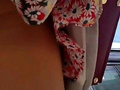 spy upskirt 550 nylon teens girl romanian