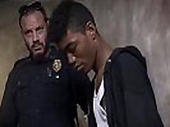 Young boys caught blowjob gay Suspect on the Run, Gets Deep Dick