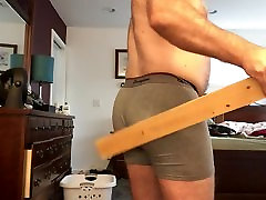 First spanking with JO at end