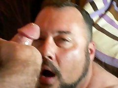 Vintage Porn on the Computer and Daddys Cock in My Mouth