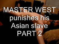 I PUNISH MY ASIAN SLAVE WITH A BELT 2
