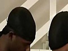 Muscled Gay Black Dude Fuck WHite Teen Boy Hard 04