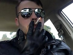 Leather Smoke in the Car 4 with new gauntlets