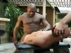 Fabulous gay clip with Interracial, Men scenes