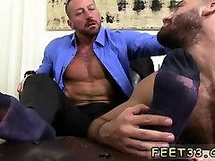 Hot gay foot suck and gay boys leg up in gay thai Ricky feig