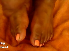 Ebony Foot Worship Preview