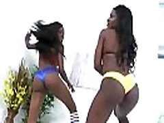 Round and Brown - Sexy Ebony MILF Fucked By White Big Cock 12