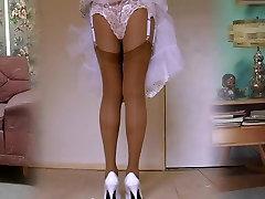 1950&039;s Nylon Stockings Legshow