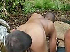 Naked black army men movie gay first time Jungle tear up fest