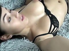 Hot Morning with Teen Squirt With Fuck Machine in POV by Vic Alouqua