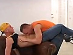 Group of homosexuals have a fun anal action