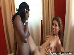 Sexy Ebony Lesbo Fuck Anally With Strapon Her Naughty Friend 06