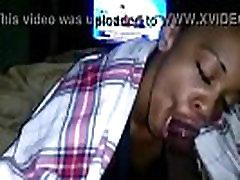 Young Ebony Girlfriend Sucking On Her Older Boyfriend&039s BBC &amp Swallowing Cum