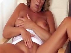 Crazy Amateur record with Masturbation, Mature scenes
