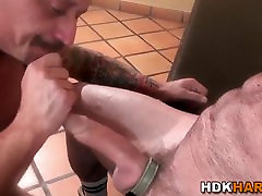 Throating mature hunks