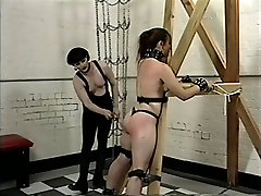 Incredible pornstars Kate Cassidy and Lynx Dyan in best bdsm, bdsm porn scene