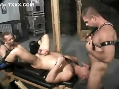 Crazy homemade gay video with Fisting, BDSM scenes