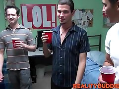 Kinky college guys have hardcore anal sex in the dorm room