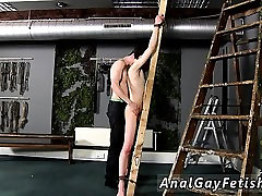 Cop tied up and in bondage gay videos Victim Aaron gets a wh
