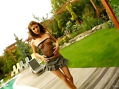 Stefani in hardcore gonzo teen sex by Tamed Teens