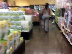 Bubble Booty Ebony MILF Candid Quickie