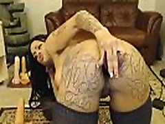 Housewiveshd.net-Black Squirting queen fucks her throat and wet pussy