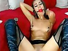 Small tits bdsm loving young mom gagged