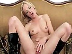 Amateur Blondie Teen fucks herself - Part 2 BeaverCams.com