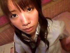 Hottest Japanese girl Minami Ebihara in Exotic Teens, Doggy Style JAV clip