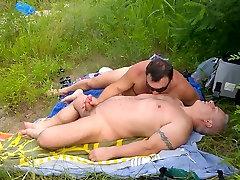 Incredible homemade gay scene with Bareback, Blowjob scenes
