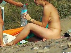 Hot Bodies Nudist Milfs Tanning Naked At Beach Voyeur HD Vid