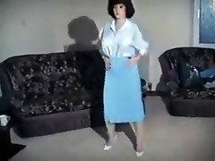 Incredible amateur Big Natural Tits, Striptease sex scene