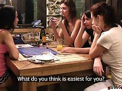 Horny pornstars Honey, Lexi Dona, Charlotta in Exotic Fingering, Lesbian xxx video