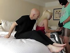 cuckold in chastity - lick my boots