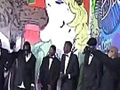 Interracial Sex Gangbang Party Fuck Movie 19