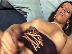 Bigboob shemales getting jizzed on