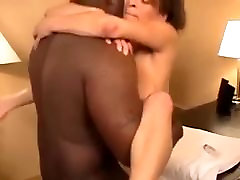 Amateur sex with big natural saggy tits mature milf and big black cock