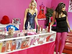 Crazy pornstars India Babe and Jamie Brooks in horny big tits, lesbian xxx movie