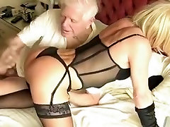 Incredible homemade shemale scene with Stockings, Lingerie scenes